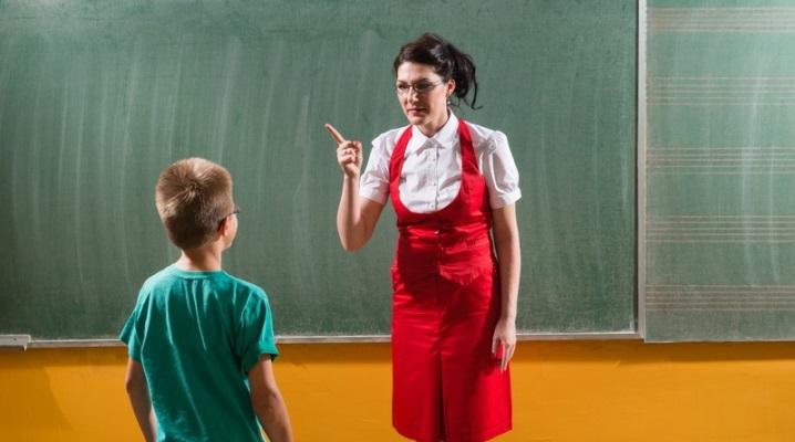 Поведение детей в школе