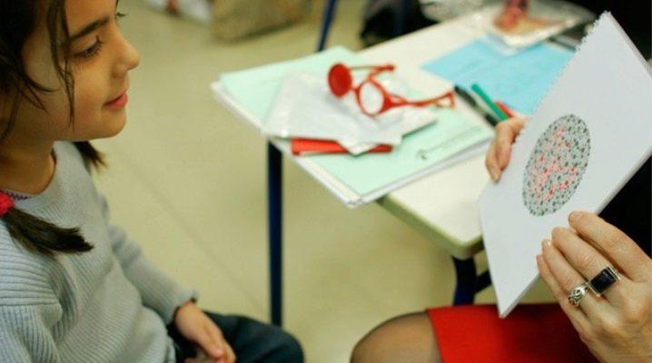 Как определить дальтонизм у детей?