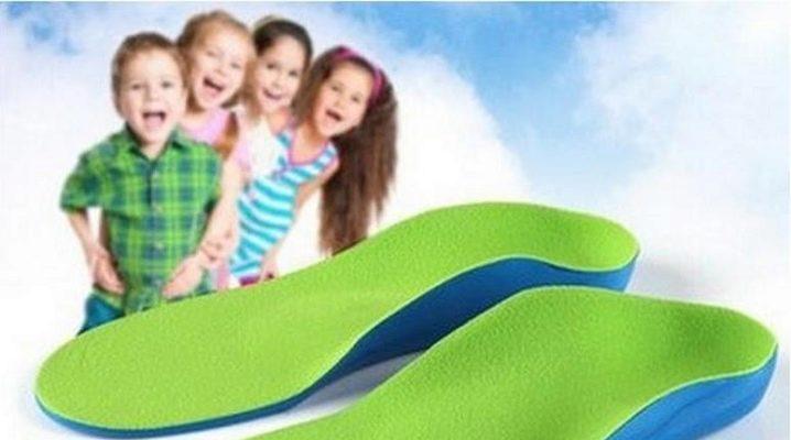 Выбираем ортопедические стельки для детей при плоскостопии