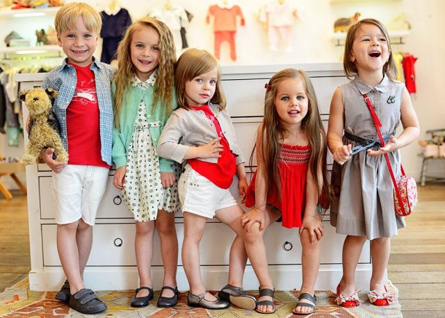 смотреть фото моделей детей