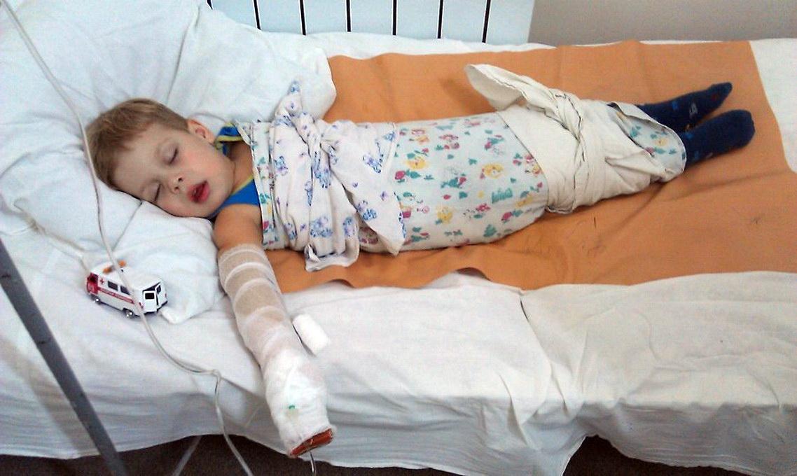 Как сделать больного ребенка 418