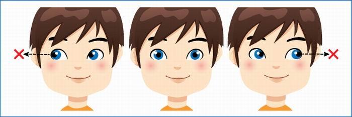 Гимнастику для глаз картинках для детей